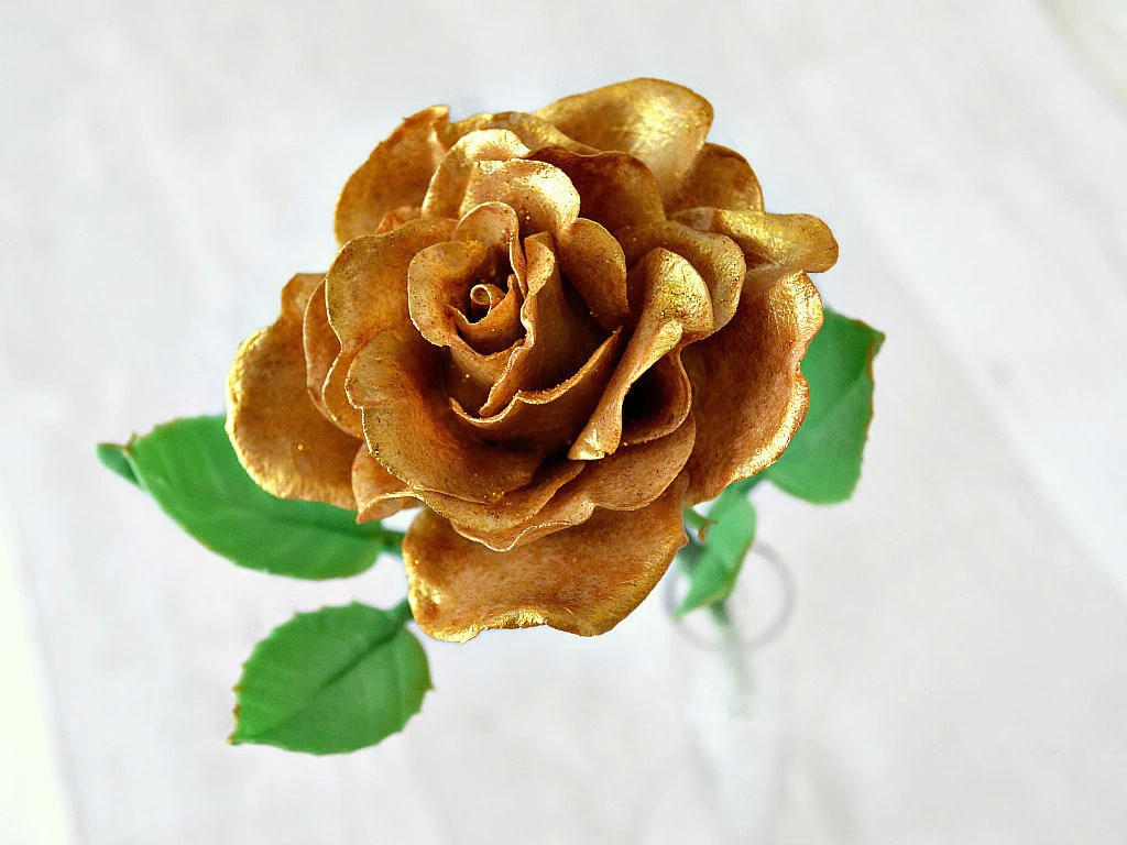 Golden Wedding Anniversary 50th Anniversary Gifts Gold Rose