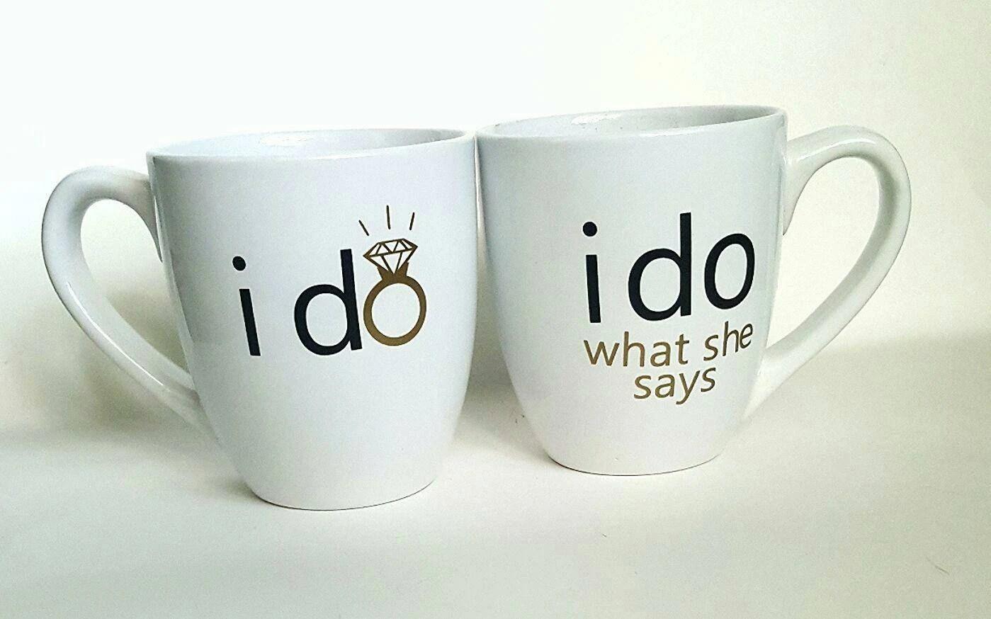 Engagement Gift/ Engagement Mugs/ Couples Mugs/ Wedding Gift