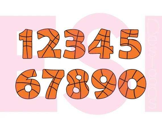 Download Basketball Number svg files, Sport svg,, SVG, DXF, EPS ...