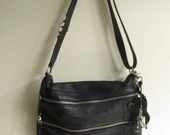 Leather Kipling crossbody...