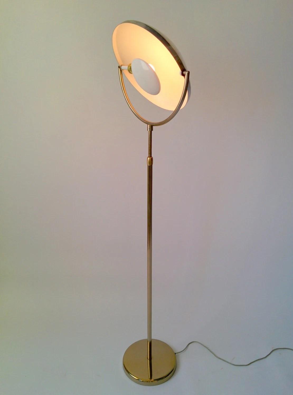 Multiple Bulb Floor Lamp Revolving