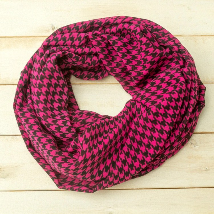 Houndstooth Scarf, Infini...