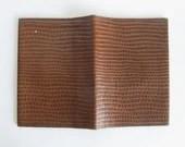 Vintage travel wallet, pa...
