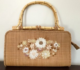 Straw Handbag - Summer Handbag - Capelli Purse