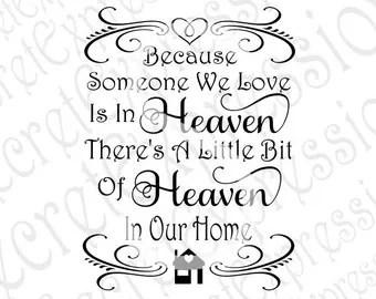 Download Loved Ones in Heaven Svg Empty Chair Svg Sympath svg Svg