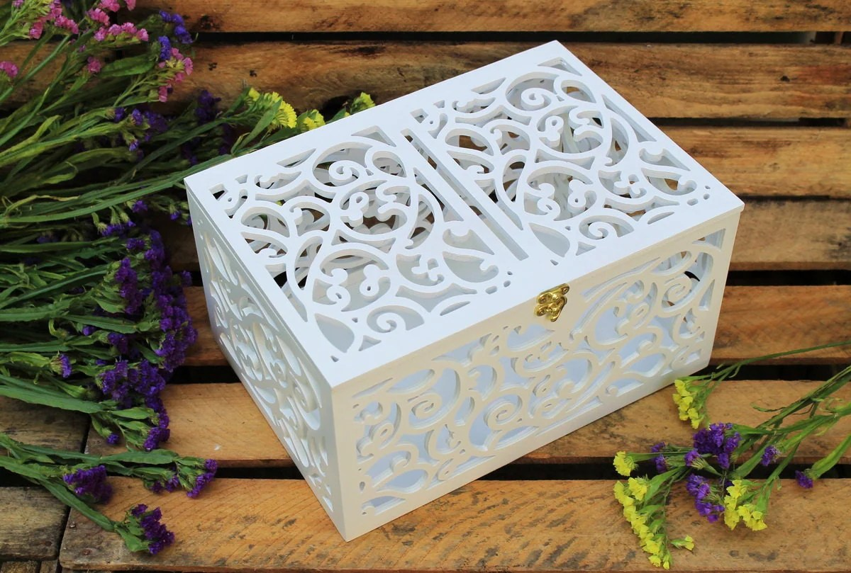 Wedding Card Box-Wedding Gift-Plywood Box-Love Story By