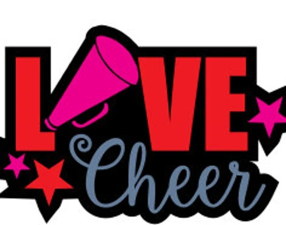 Download Love Cheer SVG File DXF For Silhouette SVG File For Cricut