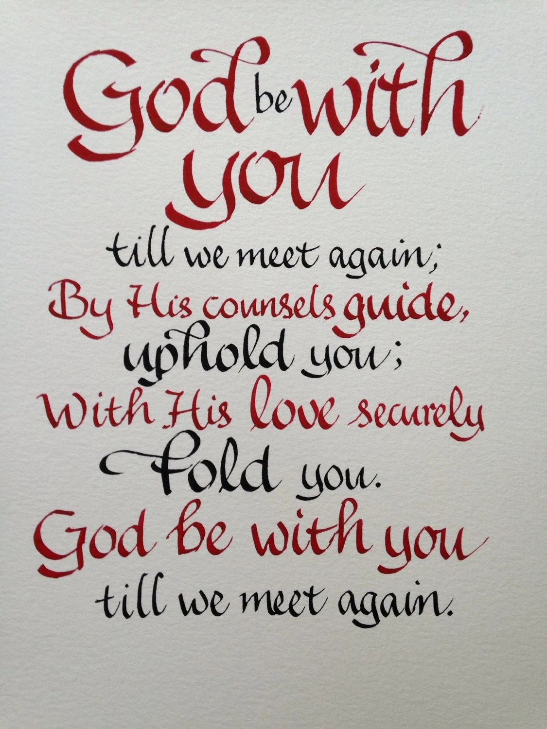 God Be You Till We Meet Again Quotes