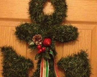 Scottish Terrier Scottie Wreath Great For Christmas Or Year