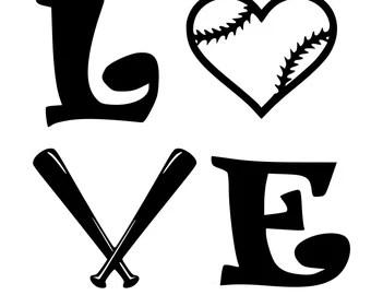 Download softball svg files - Etsy