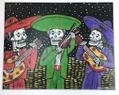 Mariachi Trio Print 8x10...