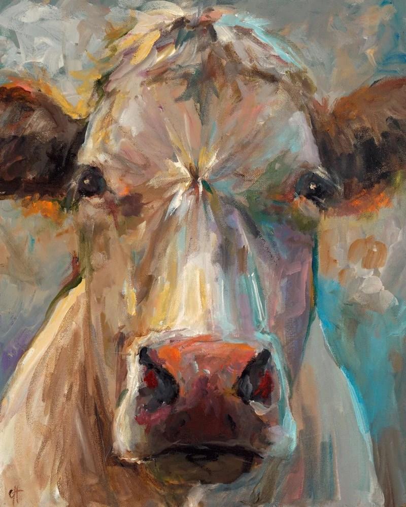 Cow Painting Freida Giclee Print Of An Original Painting