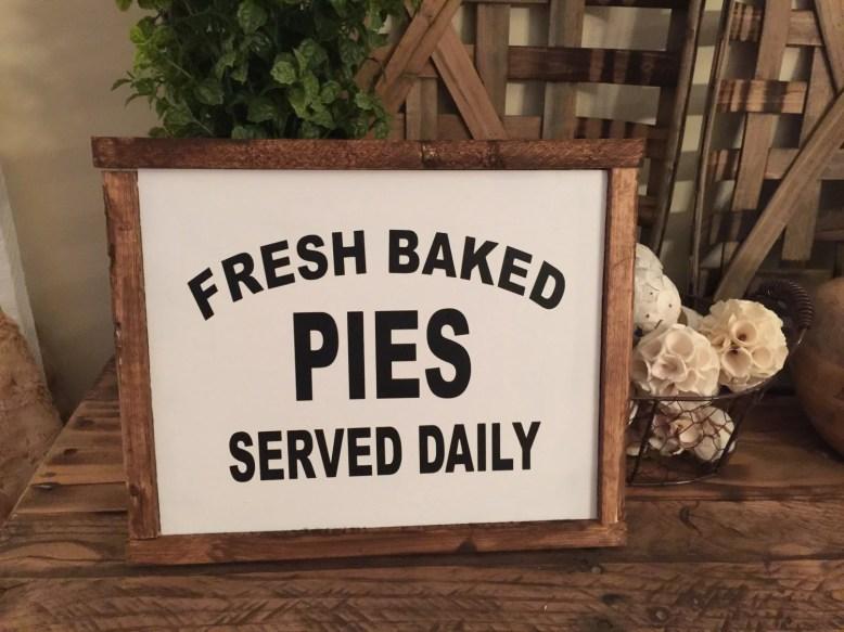 Fresh Baked Pies Custom W...