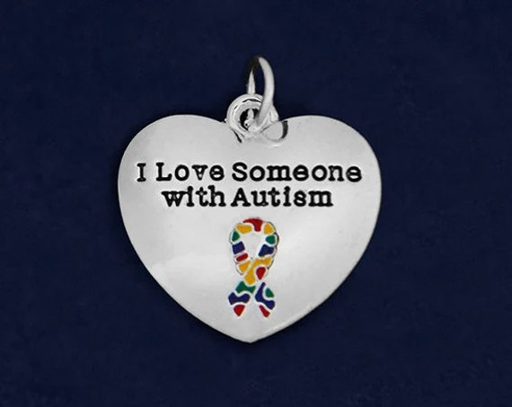 Download I Love Someone With Autism Charm RETAIL RE-CHARM-97-2