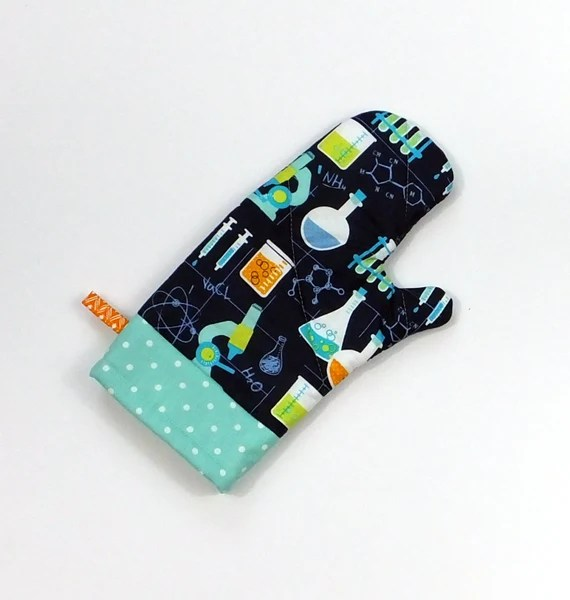 Science Geek Oven Mitt