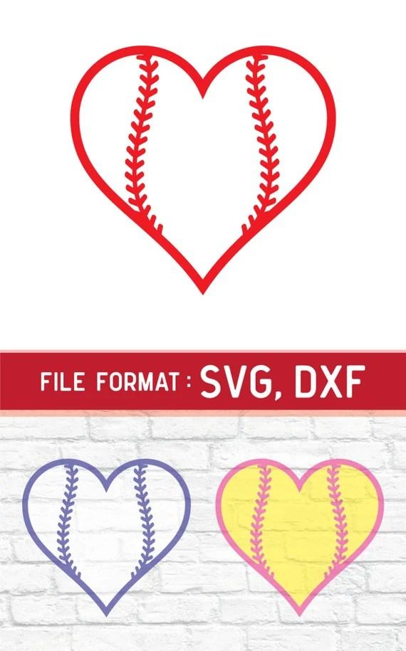 Download SVG Love Baseball Monogram Cricut Files Vinyl by DreamShape