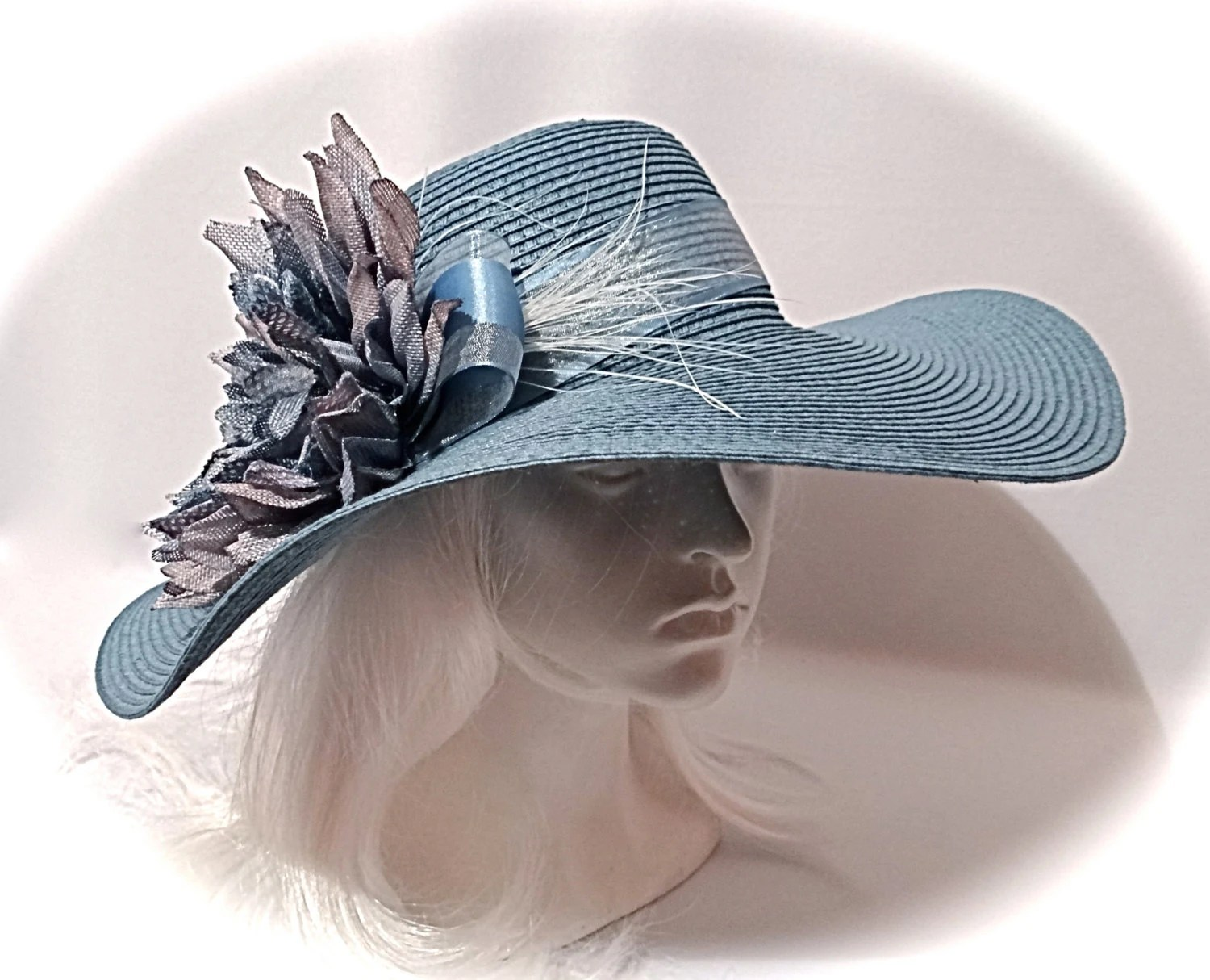 Derby Hat Mother Of The Bride Sun Hats By Marcellefinery