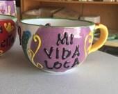 MI VIDA LOCA Mug - Fired ...