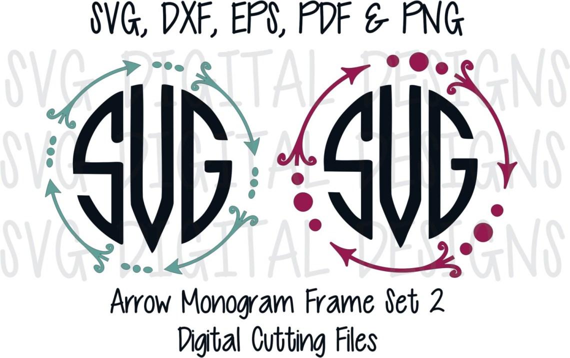 Download Arrow Monogram Svg Files Cute Arrow Svg Digital Design