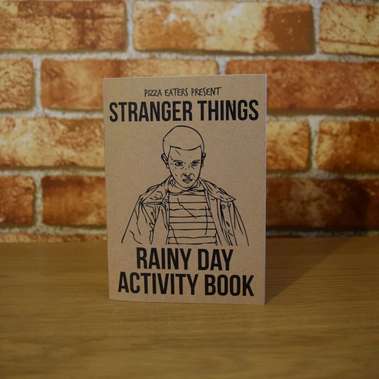 Stranger Things Rainy Day Colouring Amp Activity Book