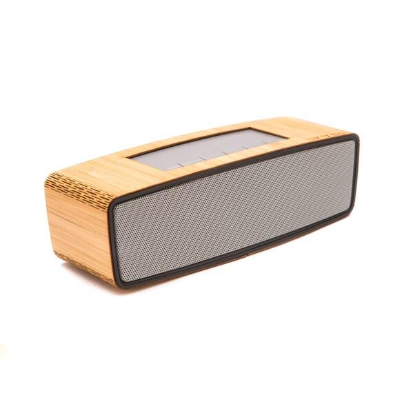 Bluetooth Wireless Speaker Wooden Speaker - Custom portable Audio Music Speaker - Perfect Gift for a Man or Girl