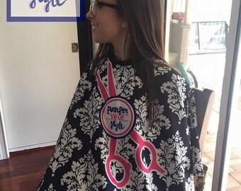 hair stylist apron etsy