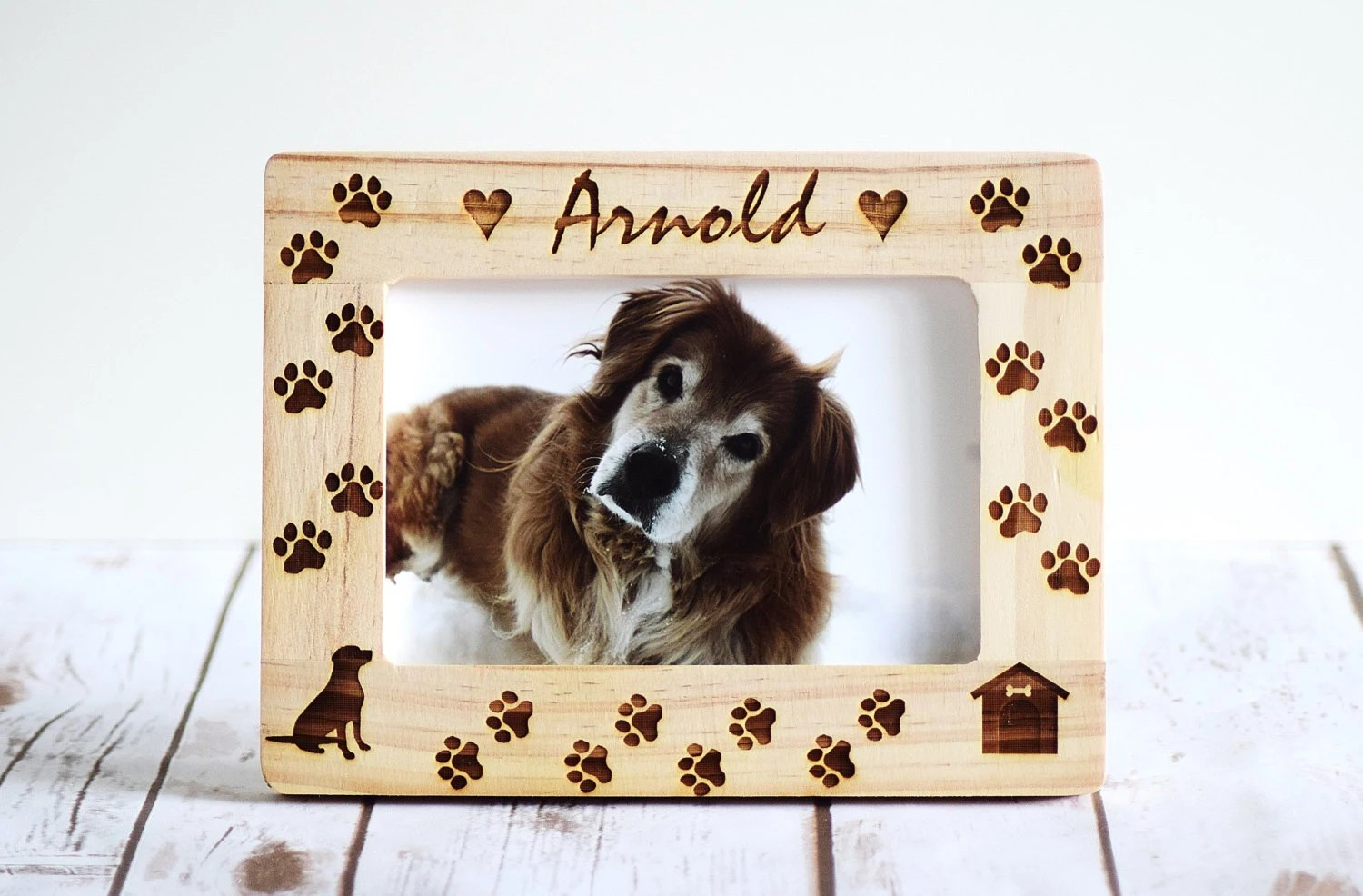 Personalized Dog Frames Dog Frame Pet Frame Gift Pet Lover