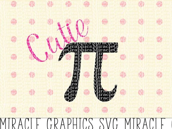 Download Cutie Pi Cuttable SVG Files for Silhouette Cameo and Cricut