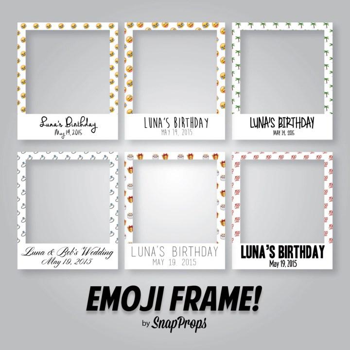 Polaroid Frame Prop Size | Viewframes.org