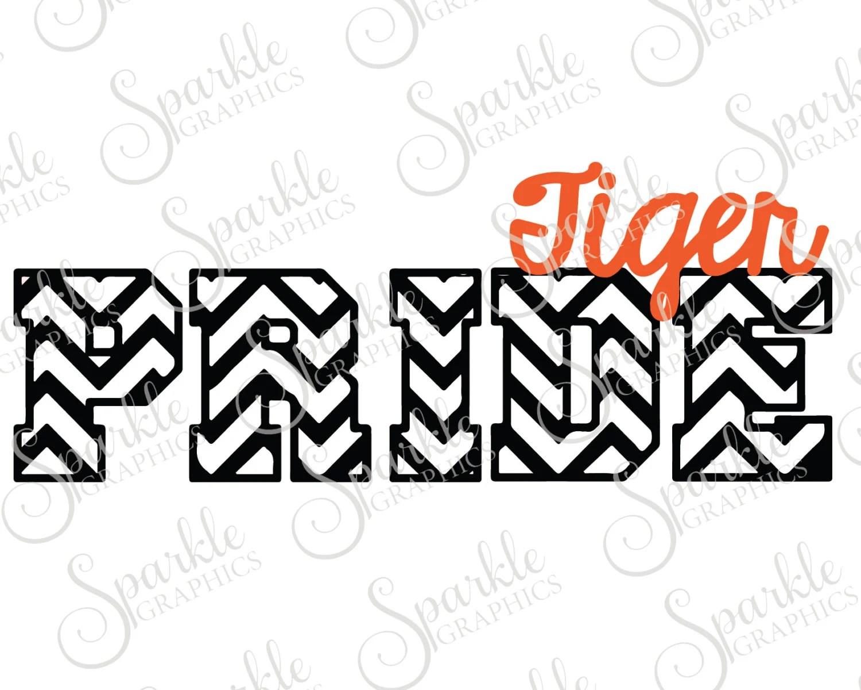 Tiger Pride Cut File Tiger Svg Tiger Mascot Mascot Svg