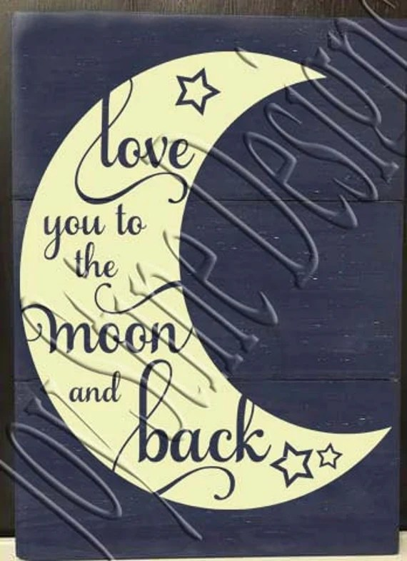 Download Love you to the moon and back Moon SVG, PNG, JPEG from ...