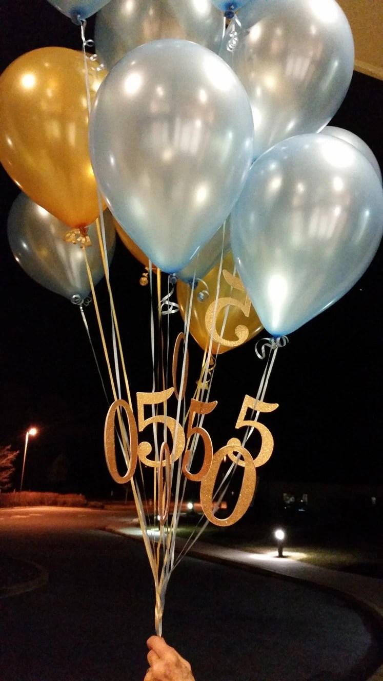 50th Balloons