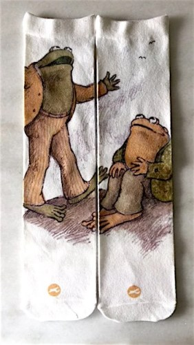 Frog and Toad socks