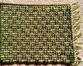 Crochet Green-Beige Mosai...