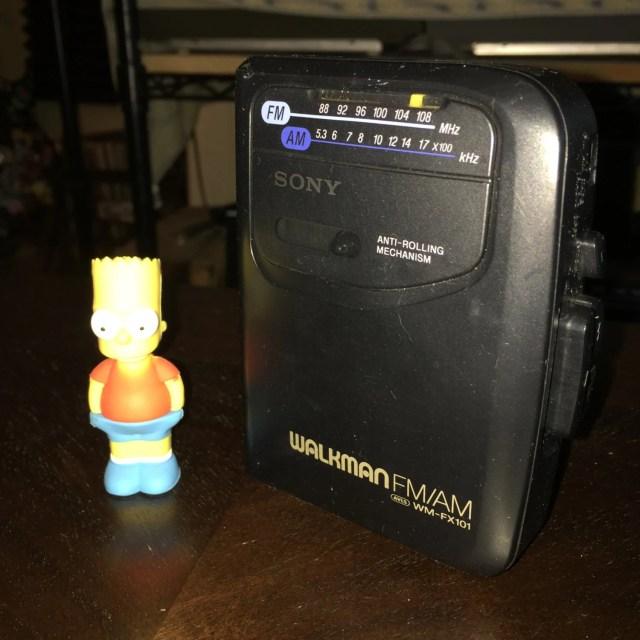 Sony WM-FX101 Vintage Retro Walkman Cassette Tape Player & AM/FM Radio // Sony Analog Digital vibes kush vaporwave