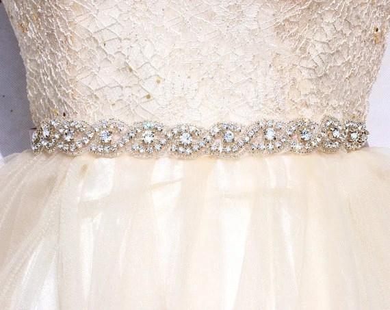 SALE All Around Bridal Belt Wedding Sashes And Belts Wedding