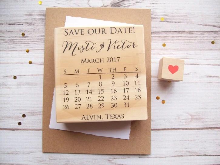 Save Date Calendar