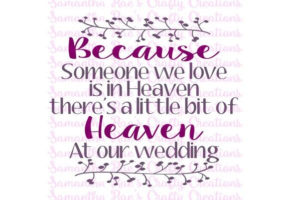 Download SVG PNG DFX Heaven at Our Wedding Digital Files by srh101