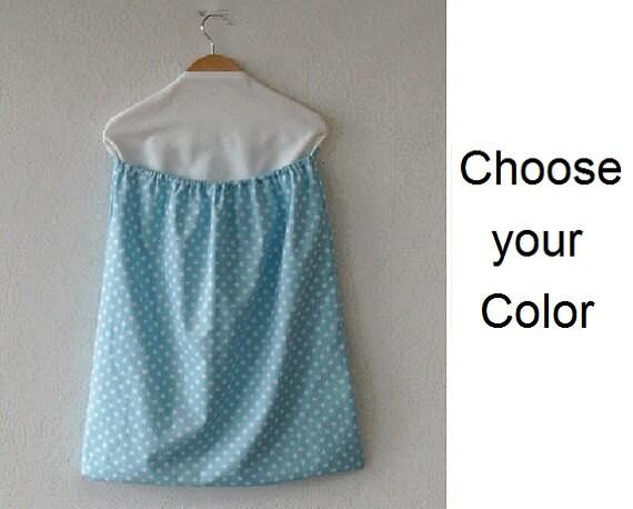 Hanging Laundry Bag Polka Dot Prints Your Choice Of Fabric