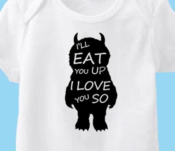 Download I'll EAT you UP I Love you so vinyl Iron On decal Where