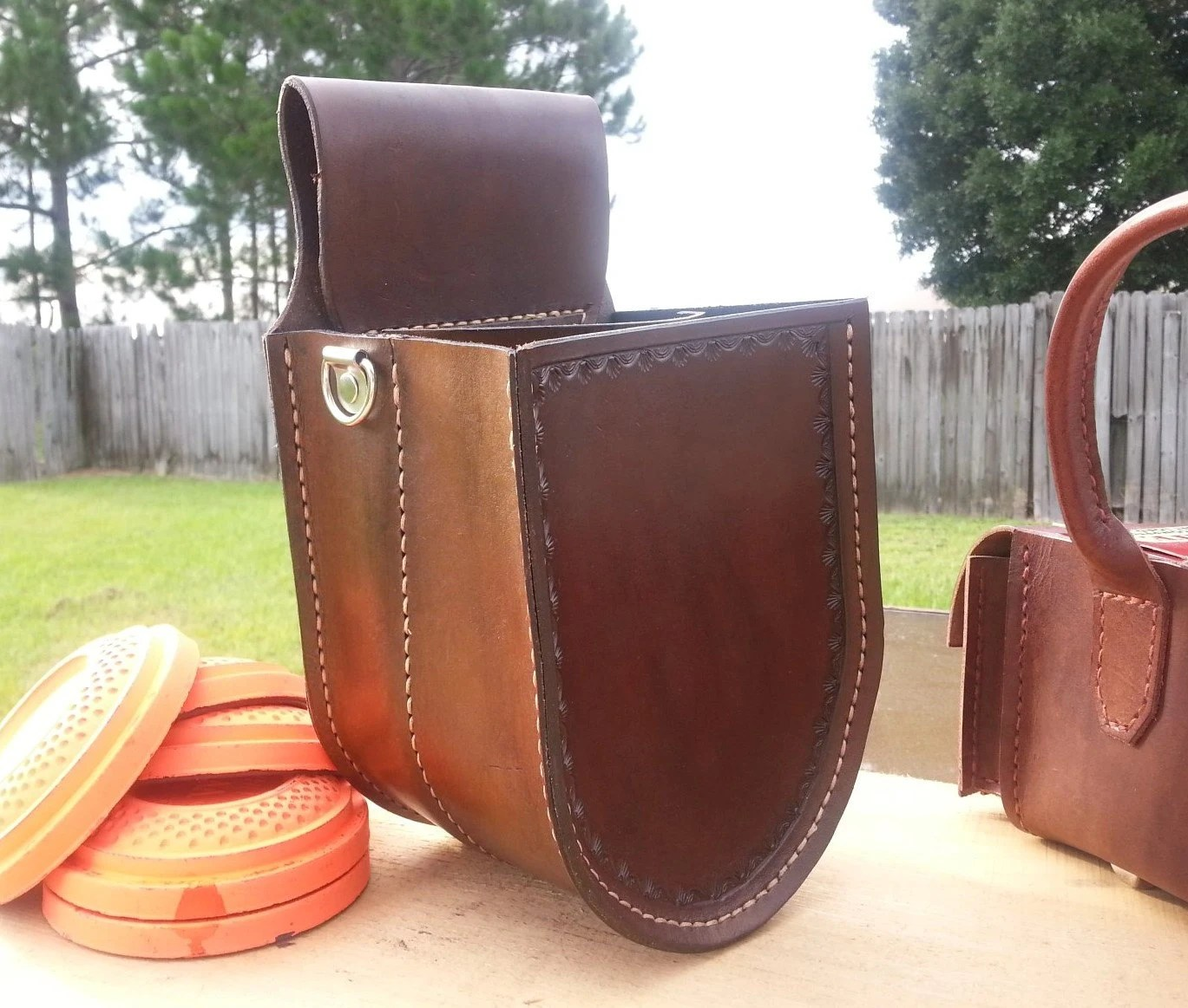Veg Tanned Leather Bags