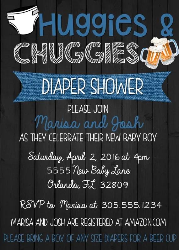 Baby Shower Invitations Animals