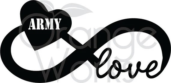 Download Army Infinity Love SVG