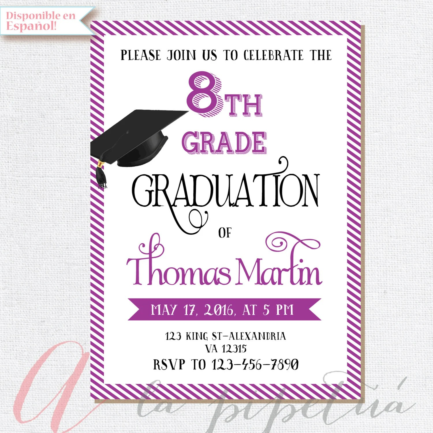 Custom Grad Announcements