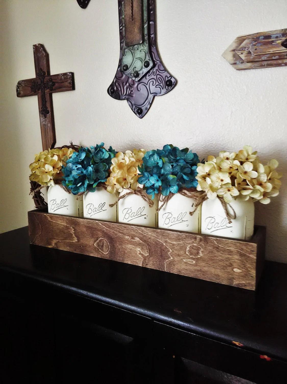 Table Decor New Home Gift Wedding Gift Mason Jar
