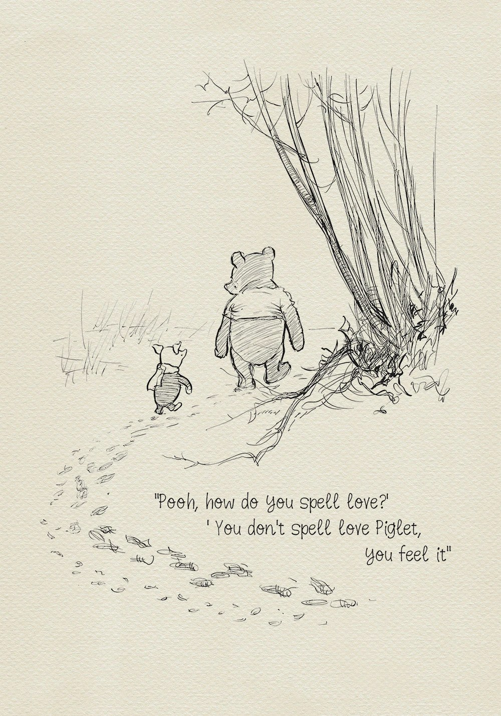 Pooh How Do You Spell Love Winnie The Pooh Quotes