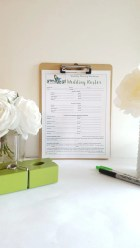 Wedding Roster Worksheet: GEG's Wedding Planning Templates- Digital File PDF Coordinating, Organizing