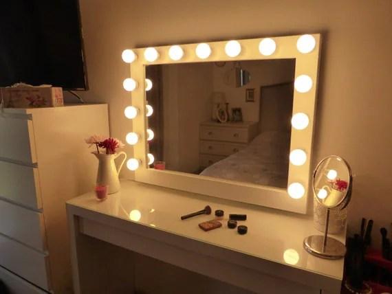 Big Vanity Mirror Lights
