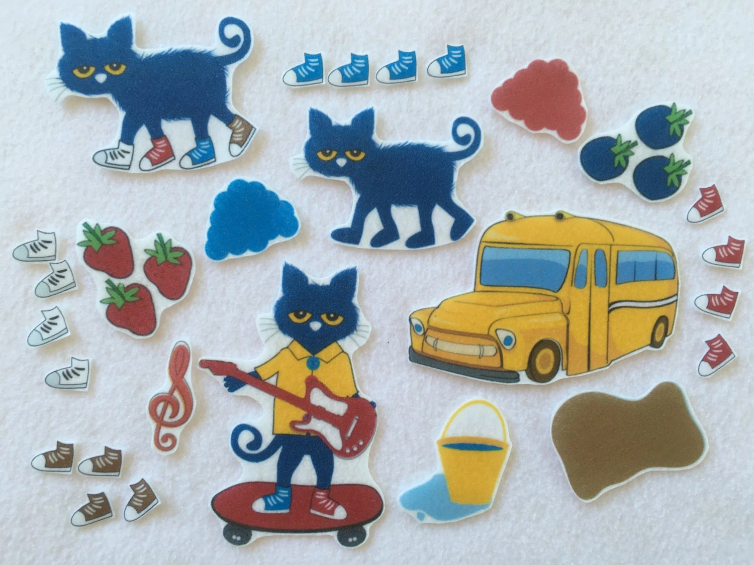 Pete The Cat I Love My White Shoes Felt Board Story