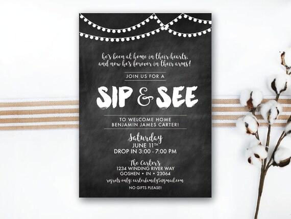 Baby Sprinkle Invitations